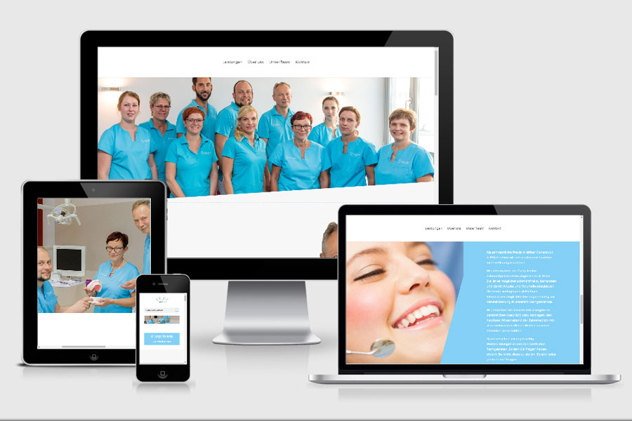 Webdesign aus Erfurt: Referenz Zahnarztpraxis Dietrich aus Erfurt