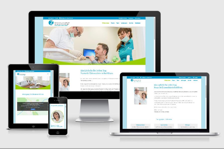 Webdesign aus Erfurt: Referenz Zahnarztpraxis Schmeisser aus Naumburg